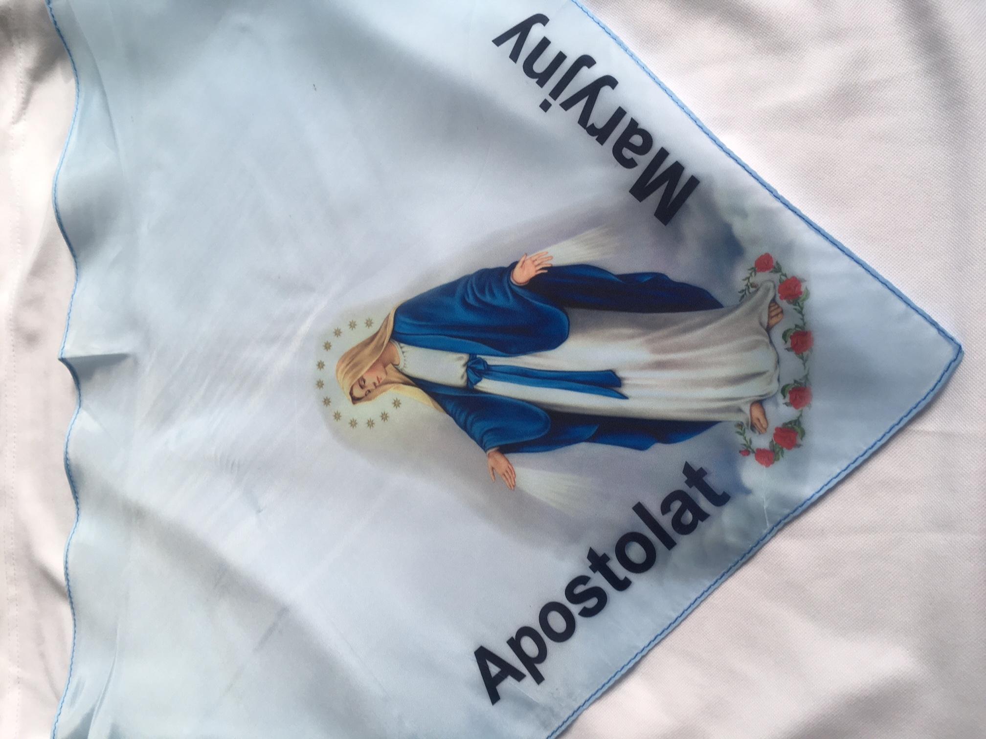 Chusta Apostolat Maryjny Algodon.pl